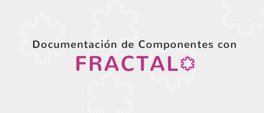 Fractal, an awesome library to generate documentation for style guides and components